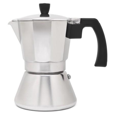 Гейзерная кофеварка Tivoli (310 мл), на 6 чашек, серая
