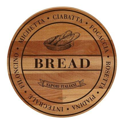 Доска сервировочная круглая Bread, 30 см