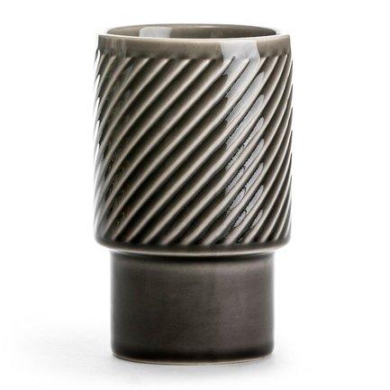 Стакан для латте Coffee & More (400 мл), серый