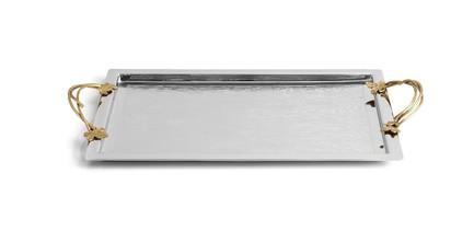 Поднос с ручками Плющ и дуб, 57x32 см