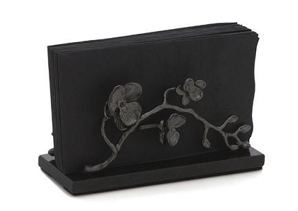 Фото - Подставка для салфеток Черная орхидея, 20 см, черная MAR110825 Michael Aram подставка для салфеток черная орхидея 20 см черная mar110825 michael aram