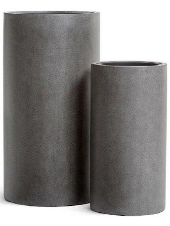 Фото - Кашпо Effectory Beton Высокий цилиндр, 80х41 см, темно-серый бетон 41.3320-02-029-GR-80 Treez кашпо effectory beton куб 20х20х20 см темно серый бетон без технич горшка 41 3317 02 005 gr xl 20 treez