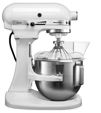 KitchenAid Миксер планетарный проф., дежа (4.8 л), 3 насадки, белый