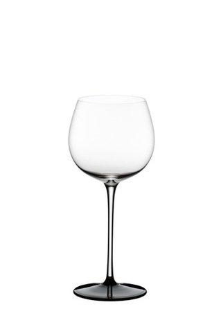 Фужер Montrachet /Chardonnay (500 мл), прозрачный с черным основанием