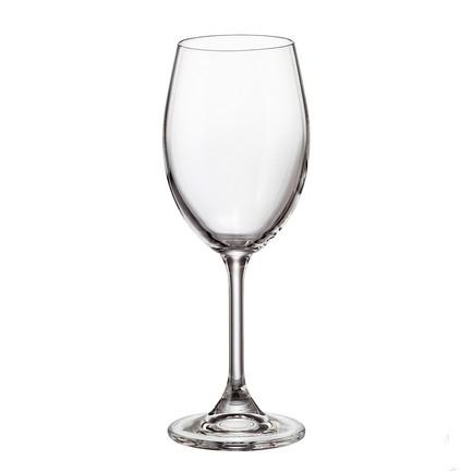 Набор бокалов для вина Sylvia/Klara (250 мл), 6 шт. 16229 Crystalite Bohemia