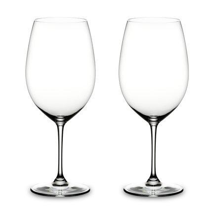 Riedel Набор бокалов для красного вина Cabernet Sauvignon (1060 мл) 2 шт 6416/00 Riedel chewell лакомство для собак мелких пород нарезка из говядины уп 60г