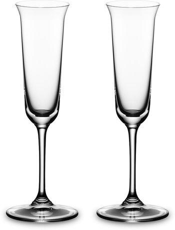 Riedel Набор бокалов для граппы Grappa (85 мл), 2 шт. 6416/70 Riedel riedel набор бокалов для бренди brandy 840 мл 2 шт 6416 18 riedel