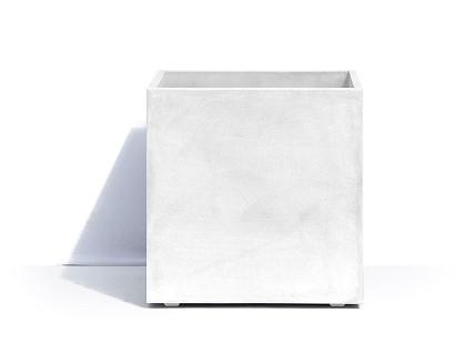 Кашпо Geneva, 44х44х44 см, белое