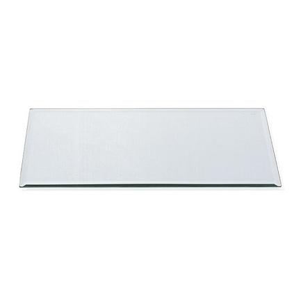 Подставка стеклянная Зеркало прямоугольная, 30х15х1 см