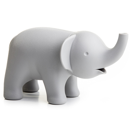 Фото - Сахарница Elephant (150 мл), серая QL10198-GY Qualy платок женский troll цвет темно синий молочный tsa0345gr размер 150 см х 150 см