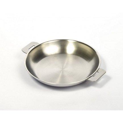 Cristel Сковорода без ручек L Enveloppant, 20х2.5 см, матированная (P20QL)  cristel сковорода без ручек l enveloppant с антипригарным покрытием экскалибур 20х2 5 см матированная p20qle