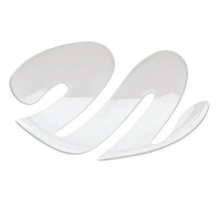 Koziol Ваза сервировочная EVE (3552525), 34х34.5х7.4 см, белая 004.071000.001