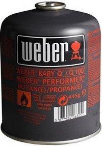 Weber Газовый балон для гриля 17514 Weber книга weber философия гриля 577495 weber
