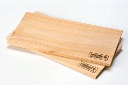 Weber Кедровые доски для копчения, 2 шт. 50019 Weber