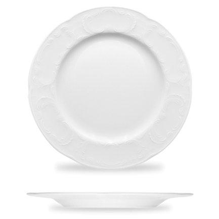 Тарелка квадратная Options, 27.6х2.6 см, белая 71 1927 Bauscher