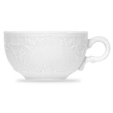 Чашка круглая Mozart (0.08 л), 6.9х4 см, белая