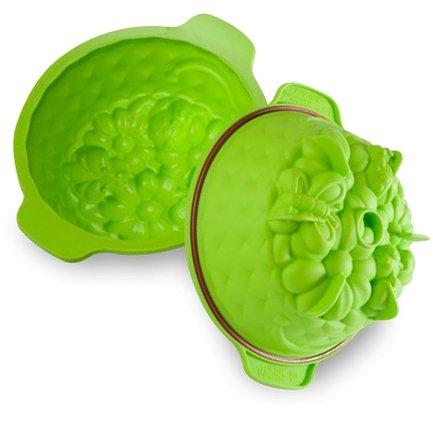 """Форма круглая """"Springlife"""", 20 см, светло-зеленая, в подарочной упаковке от Superposuda"""
