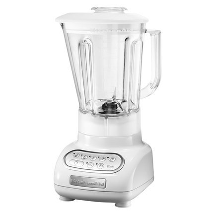 KitchenAid Блендер Classic, стакан поликарбонат (1.5 л), 6 скоростей, Pulse, белый kitchenaid 5kr7sb 6 9л