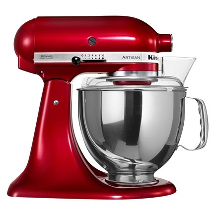 KitchenAid Миксер планетарный, карамельное яблоко, 3 насадки 5KSM150PSECA KitchenAid