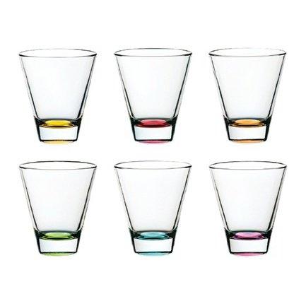 Alter Ego Набор стаканов (320 мл) 6 шт. 62230E Alter Ego набор стаканов осз набор стаканов fb глория божья коровка на желтом цветке ос3 250мл 6 шт