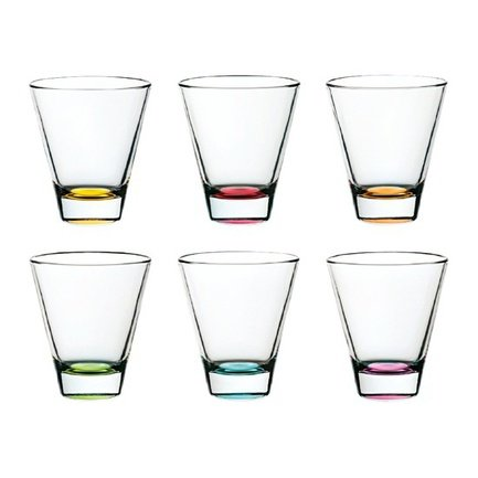 Alter Ego Набор стаканов (320 мл) 6 шт. 62230E Alter Ego набор стаканов для коньяка бистро греция из 6 шт 400 мл