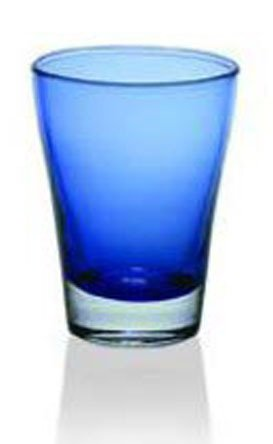 Alter Ego Стакан для вина (200 мл), синий сумка термос igloo wine tote 16 teal zebra для 2 бутылок вина или газированных напитков