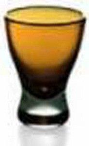Стопка (60 мл), янтарная 60683 Alter Ego стопка для водки из хрусталя classic 55 мл