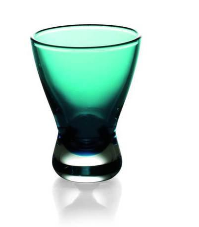 Стопка (60 мл), бирюзовая 60682 Alter Ego стопка для водки из хрусталя classic 55 мл