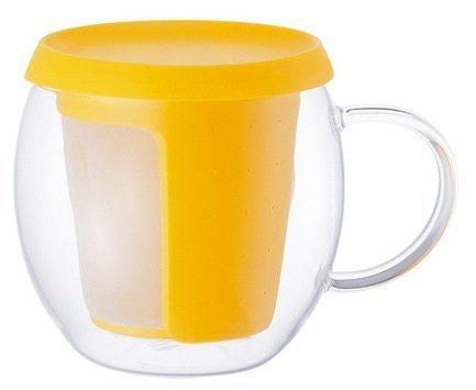 Kinto Кружка Mio (0.35 л), 9х12 см, желтый 22778
