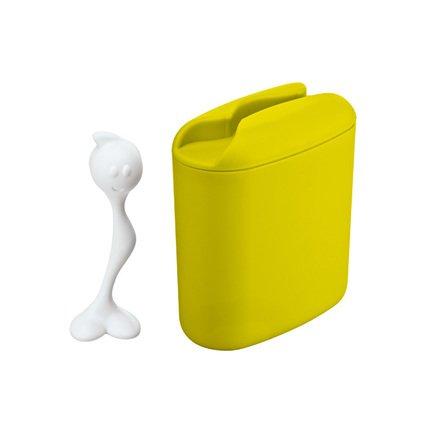 Koziol Контейнер для хранения продуктов HOT STUFF (3058582), 8.5х17х20 см (0.5 л), зеленый 004.110100.002