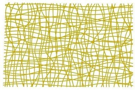 Koziol Подстановочная салфетка SILK (3090588), 45х32 см, оливковая 004.080200.005