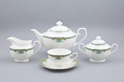 Сервиз чайный Лазурит на 6 персон, 17 пр. от Superposuda