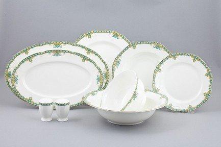 Ji-Lian Сервиз столовый Лазурит на 6 персон, 24 пр. 06-27-2-4