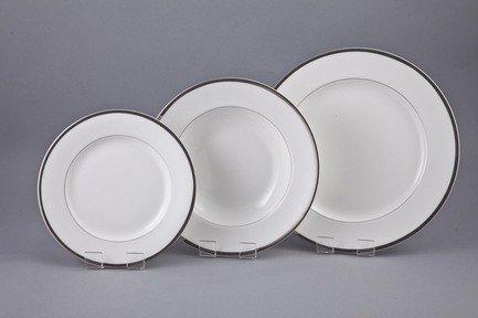 Набор тарелок Байхао на 6 персон, 18 пр. от Superposuda