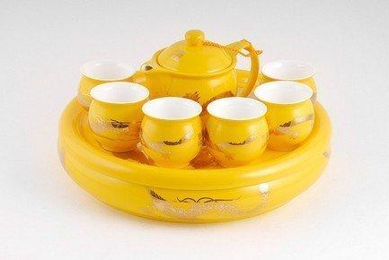 Набор для чайной церемонии Желтый, 8 пр. от Superposuda