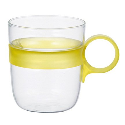 Kinto Кружка Drop (0.26 л), 7.5х10.6 см, желтый 21684 Kinto