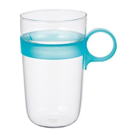 Kinto Кружка Drop (0.38 л), 7.5х12 см, голубой