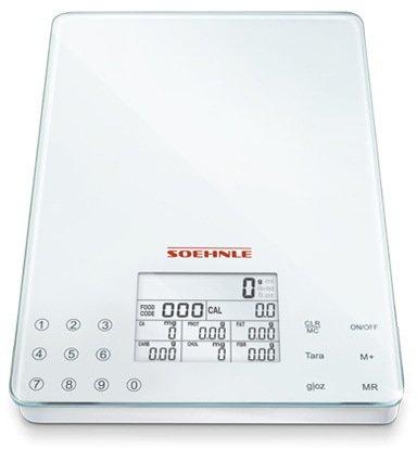 Soehnle Весы кухонные Food Control Easy, 22.5х15.6х2 см 66130