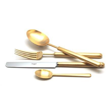 Cutipol Набор столовых приборов Bali gold, матовые, 24 пр. 9312 Cutipol cutipol набор столовых приборов atlantico gold матовые 24 пр 9202 cutipol