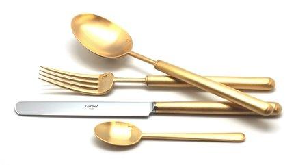 Cutipol Набор столовых приборов Bali gold, матовые, 72 пр. 9312-72