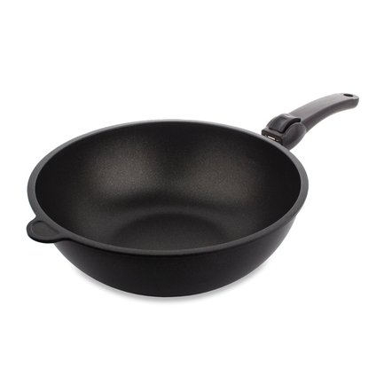 AMT Gastroguss Сковорода ВОК, 28 см AMT1128S AMT Gastroguss какую лучше сковороду вок