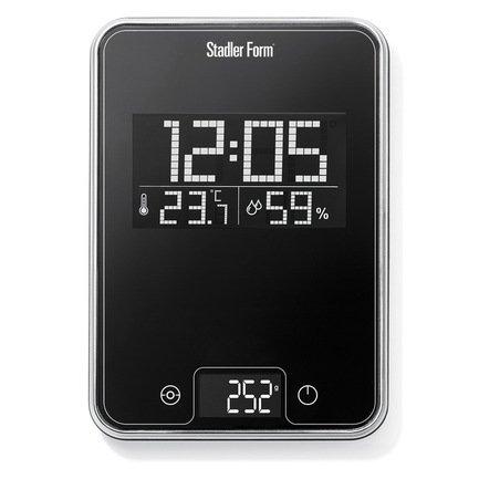 Stadler Form Весы кухонные Scale One, 15.5x22.7x2 см, черные SFL.0011 black