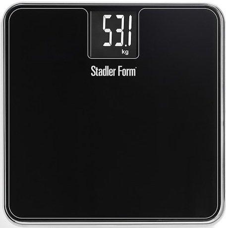 Stadler Form Весы напольные Scale Two, 31.1x2.5x31.1 см, черные какой фирмы напольные весы лучше купить