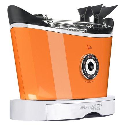 Casa Bugatti Тостер двухслотовый Volo, оранжевый 13-VOLOCO Casa Bugatti casa bugatti тостер двухслотовый volo кремовый