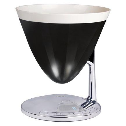 Casa Bugatti Весы-таймер кухонные Uma, черные 56-UMAN