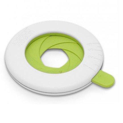 Мера для спагетти, бело-зеленая