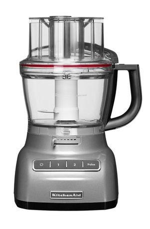 KitchenAid Комбайн кухонный (3.1 л), внешний контроль толщины нарезки, 5KFP1335ECU, серебристый