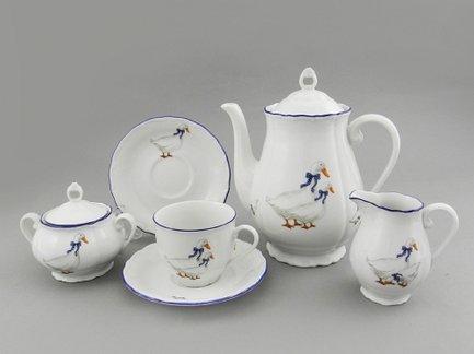 Leander Сервиз кофейный Верона Кантри, 15 пр. чайный сервиз 23 предмета на 6 персон bavaria кёльн b xw213y 23
