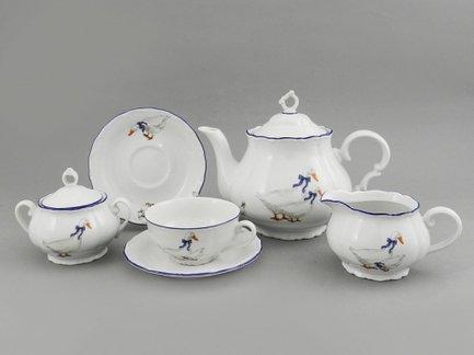 Leander Сервиз чайный Верона Кантри, 15 пр. 67160725-0807 Leander leander сервиз чайный для завтрака моника 2 пр 28120815 0807 leander