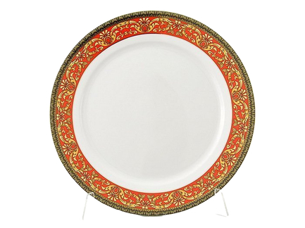 Блюдо круглое мелкое Сабина Красная лента, 30 см 02111333-0979 Leander